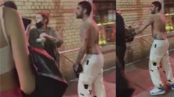 Gigi Hadid'in sevgilisi Zayn Malik öfkeden deliye döndü: Bar kapısında üstsüz kavga