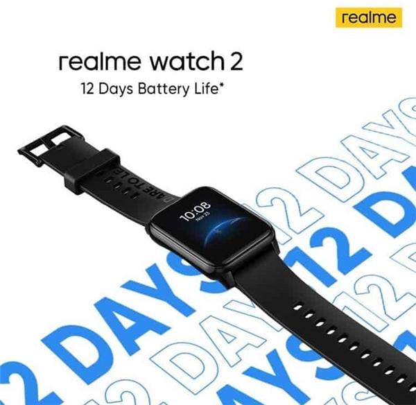 Realme Watch 2 Akıllı Saat Üstün Özelliklerle Gelecek!